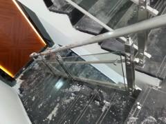 广本4S店玻璃楼梯扶手 FS-015