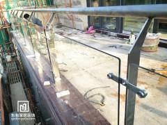 番禺吴小姐别墅不锈钢玻璃栏杆 LG-016