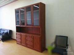 铝合金仿木书柜、储物柜