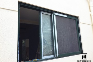 二沙岛别墅豪华推拉窗、防蚊纱窗 MC-028