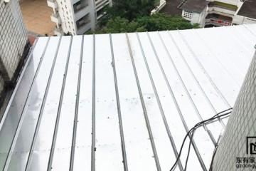 世纪绿洲不锈钢雨棚拆旧换新 YP-012