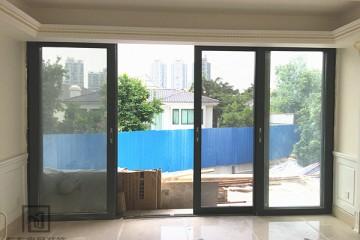 二沙岛别墅门窗(推拉门带纱) MC-083