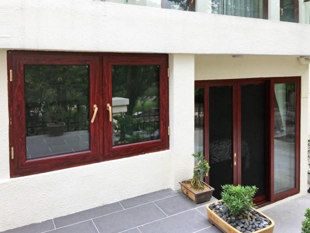 二沙岛别墅门窗、断桥铝窗带纱窗 MC-014
