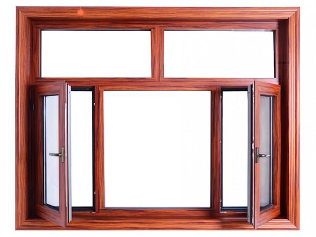 木纹铝纱窗 MC-049