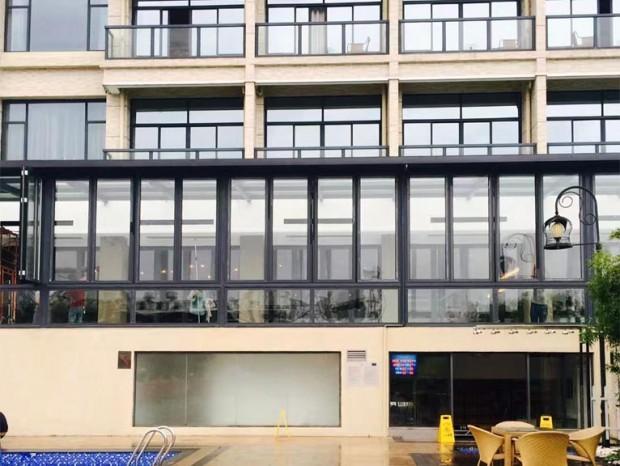 创意园办公室断桥铝窗安装 MC-018