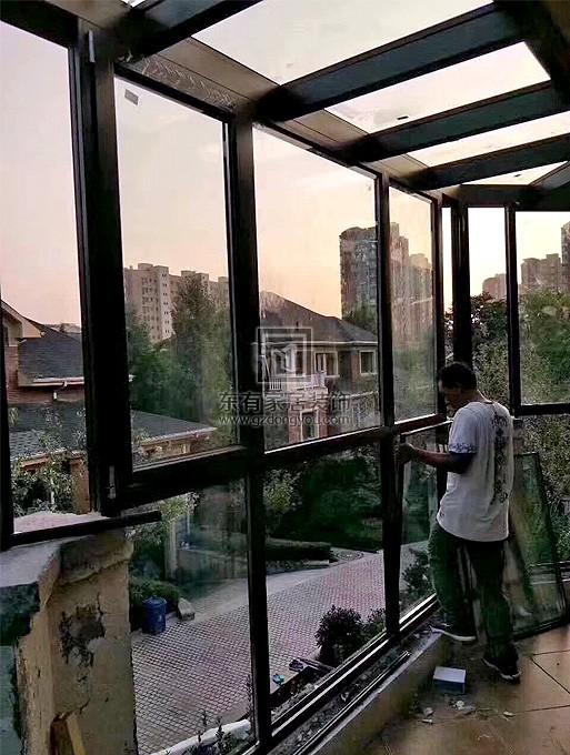 广州别墅铝合金窗封阳台、阳光房 MC-003
