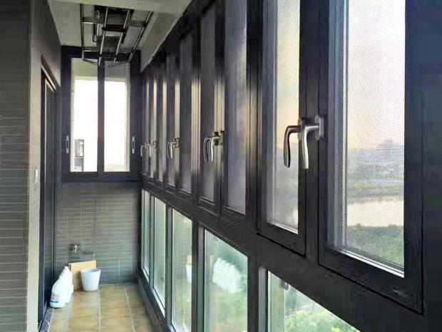 星汇文瀚项目阳台平开窗 MC-011