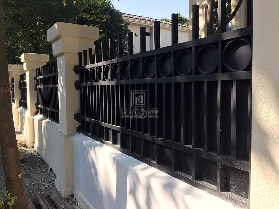 二沙岛不锈钢氟碳漆围栏更换 编号:LG-014