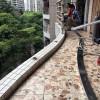 广州小区不锈钢阳台护栏、隐形防盗网安装工程 LG-035
