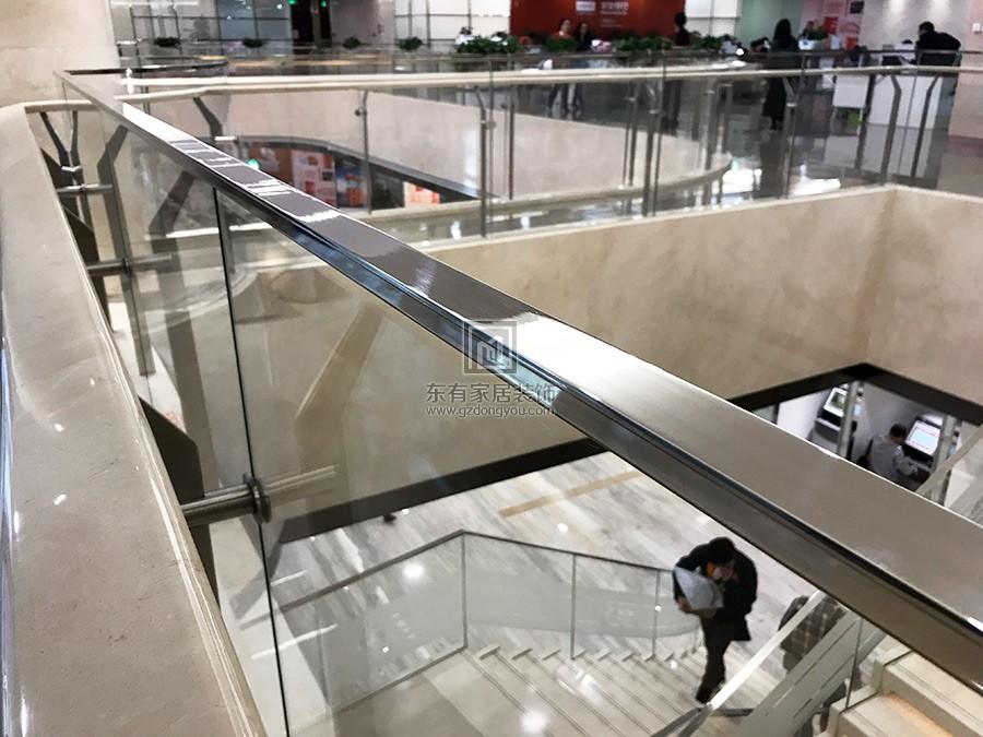 珠控大厦不锈钢栏杆 编号:LG-034