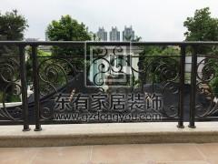 二沙岛袁小姐铁艺栏杆 LG-015