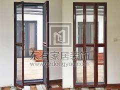 凤凰城阳台加装防蚊纱门 MC-001