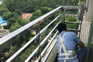 世纪绿洲阳台栏杆更换 LG-028