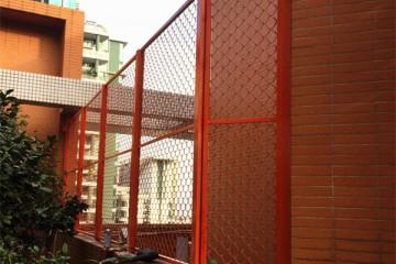 广州凯旋新世界不锈钢烤漆围栏 LG-020