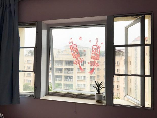 金亚花园温先生上卷式纱窗 MC-082