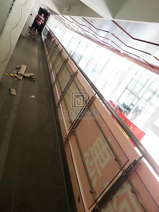 广本4S店楼梯扶手 FS-015