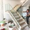 海滨花园复式楼梯扶手木面 FS-021