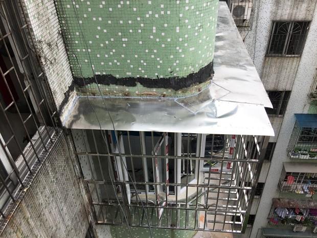 淘金路7楼冯生防盗网维修更换 FDW-006
