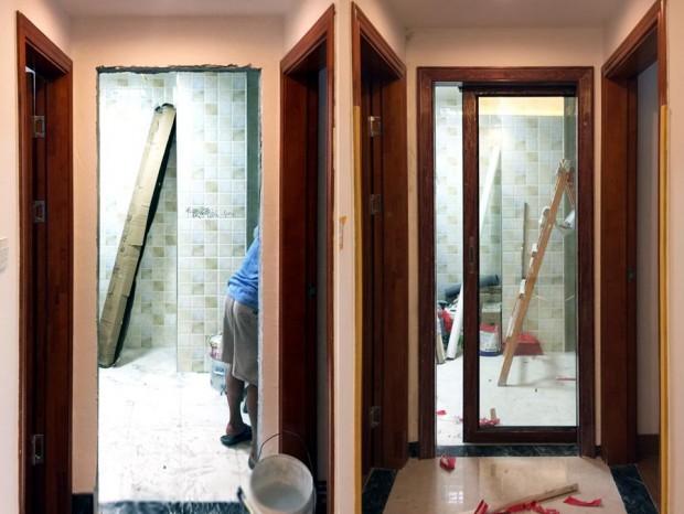 广州越秀区恒鑫御园凤铝门窗、木纹门窗 MC-037