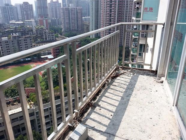 向老师家阳台栏杆改造 LG-031