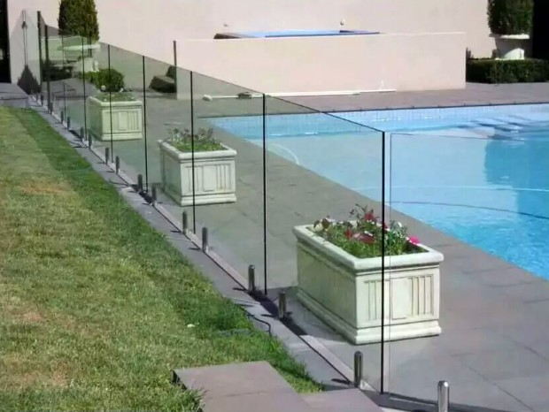 美林湖玻璃护栏 LG-042