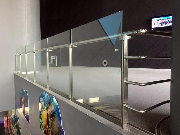 广东科学中心不锈钢玻璃栏杆 LG-018