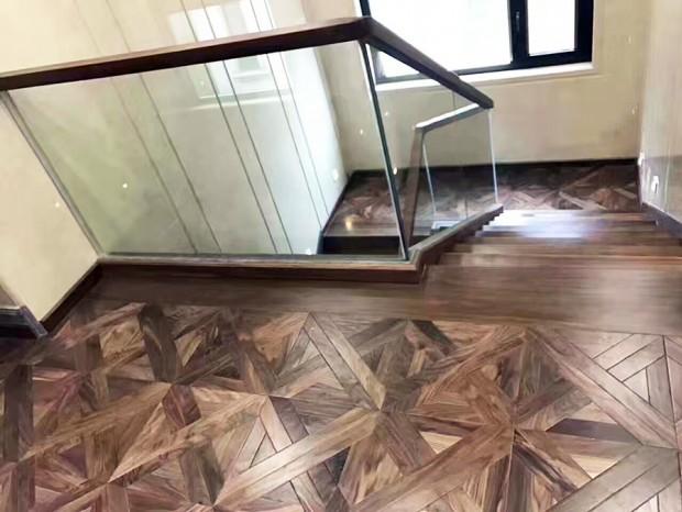 实木扶手楼梯 FS-023