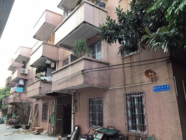 岭头大学生楼铝窗和防盗网安装 MC-087