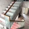 金沙洲江悦湾陈先生玻璃楼梯扶手 FS-041
