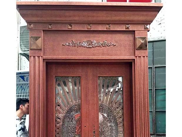 高级别墅铜门  DM-010
