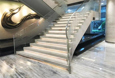 广州平安银行不锈钢栏杆扶手 FS-026