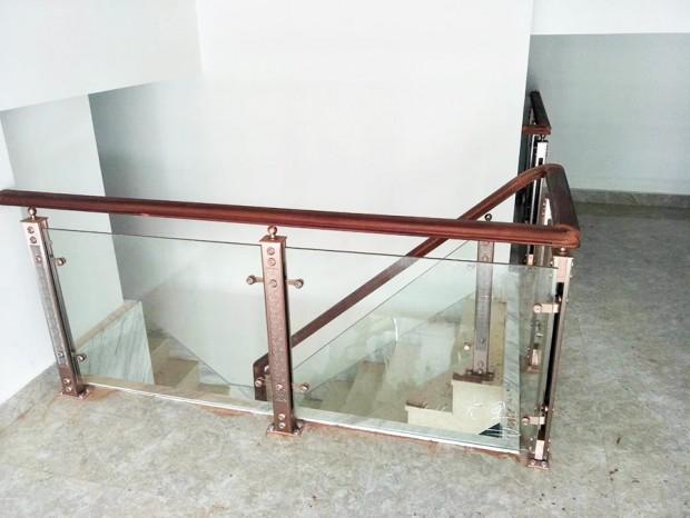 楼梯玻璃扶手 FS-043