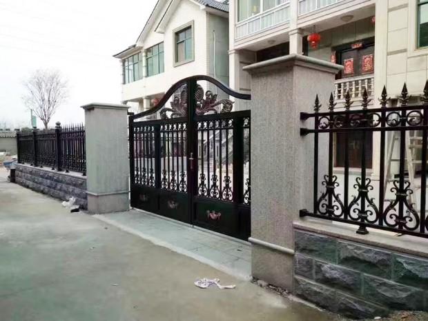 围墙栏杆安装 LG-057
