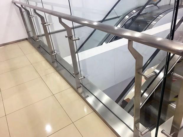 公共场所不锈钢栏杆、楼梯扶手 LG-059