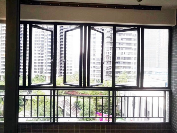 山海湾G6栋全屋铝合金门窗、纱窗 MC-121