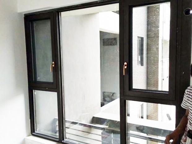 南海东苑窗纱一体半开窗 MC-130
