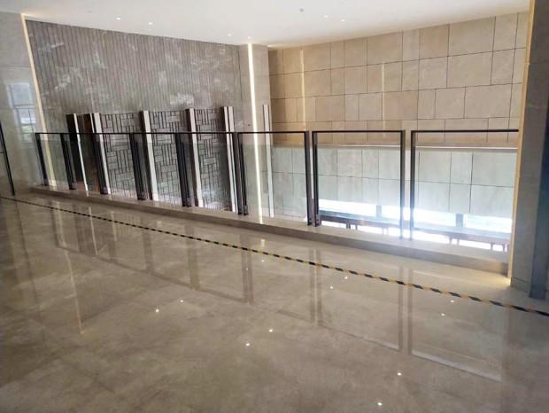 不锈钢玫瑰金玻璃栏杆 LG-067