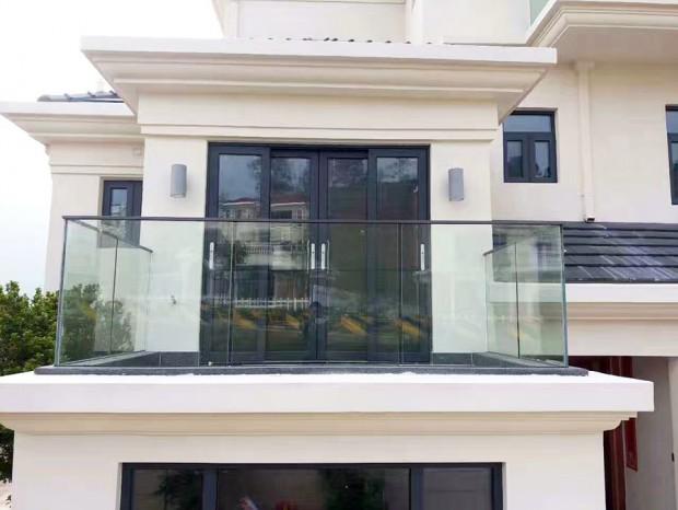 别墅阳台玻璃栏杆 LG-069