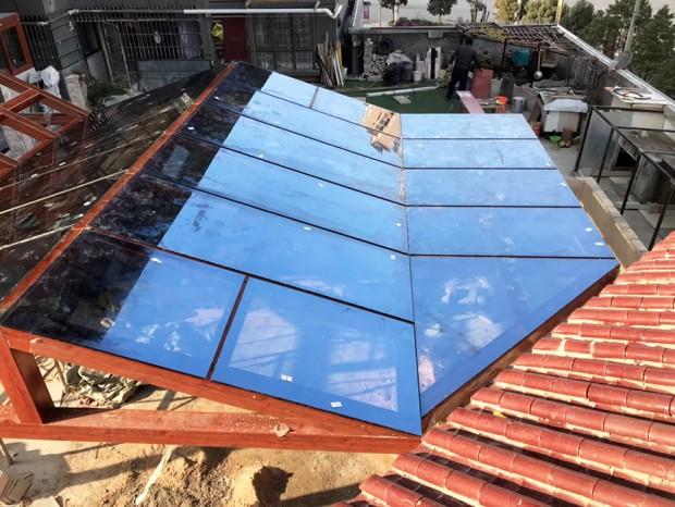 铝合金玻璃阳光房 MC-139