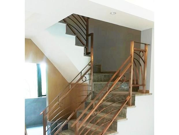 不锈钢钛金楼梯扶手 FS-068