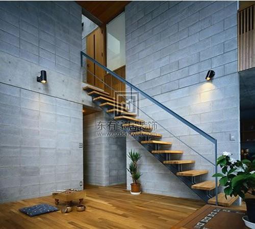 楼梯形状位置决定家居风水