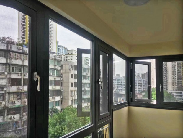 东华东路全屋铝合金门窗封阳台 MC-078