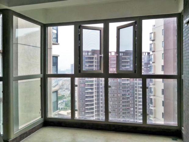 萝岗鼎峰铝合金窗封阳台 MC-076