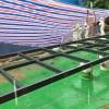 二沙岛铝合金玻璃雨棚 YP-003