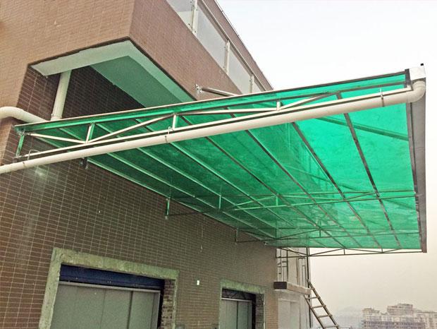 恒泰汇阳光板雨棚 YP-010
