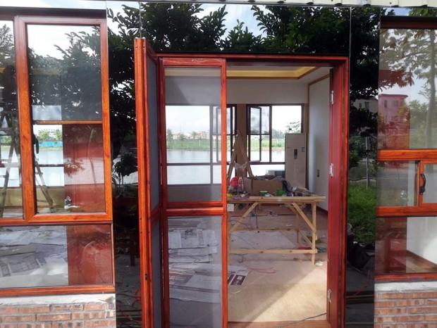 农庄仿木铝合金门窗 MC-161