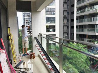 阳台封装定制