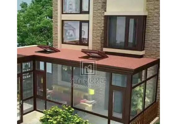 广州阳光房怎么选择合适的铝合金门窗