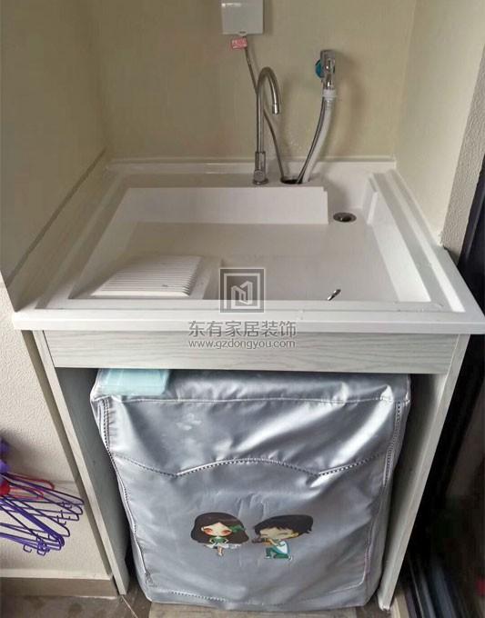 现代家居简约阳台洗衣小柜款式 YTG-004