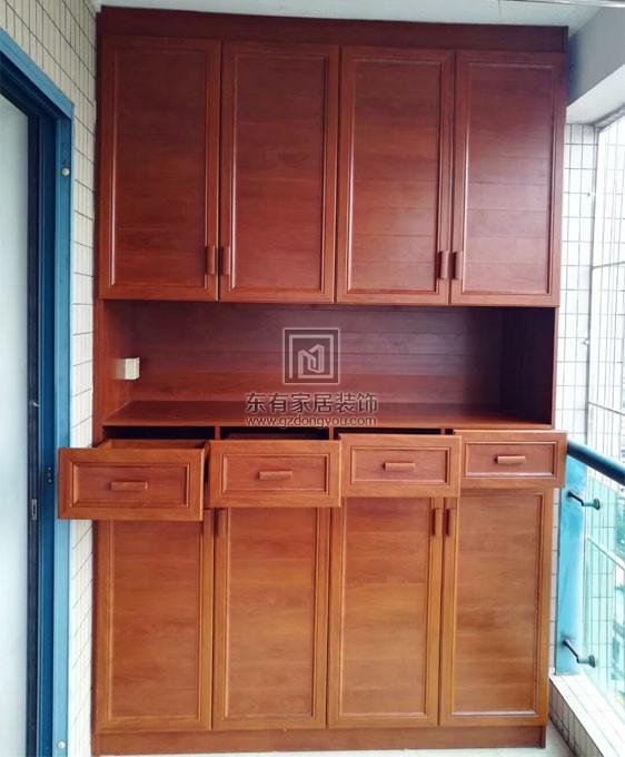 雍雅园中式风格家庭阳台柜FDW-007